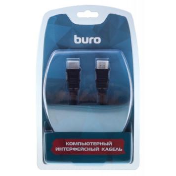 Кабель аудио-видео Buro HDMI 1.4 HDMI (m)/HDMI (m) 5м. Позолоченные контакты черный (BHP RET HDMI50) -1