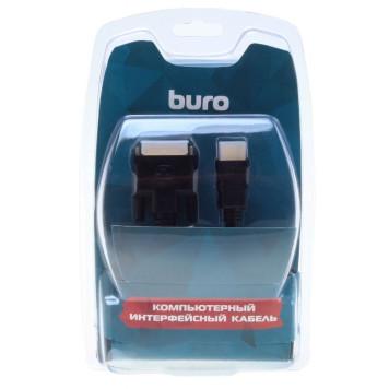 Кабель аудио-видео Buro HDMI (m)/DVI-D (Dual Link) (m) 1.8м. Позолоченные контакты черный (BHP RET HDMI_DVI18) -2