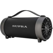 Аудиомагнитола Supra BTS-490 черный 11Вт/MP3/FM(dig)/USB/BT