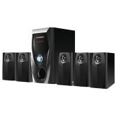 Микросистема Hyundai H-HA540 черный 150Вт/FM/USB/BT/SD/MMC/MS