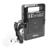 Радиоприемник портативный Сигнал Vikend Traveler черный USB SD/MMC