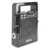 Радиоприемник портативный Сигнал Vikend Picnic черный USB SD/MMC