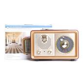 Радиоприемник портативный Сигнал БЗРП РП-324 коричневый USB microSD