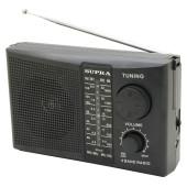 Радиоприемник портативный Supra ST-10 черный