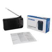 Радиоприемник портативный Hyundai H-PSR110 черный