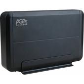 Внешний корпус для HDD AgeStar 3UB3O8 SATA пластик/алюминий черный 3.5