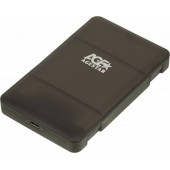 Внешний корпус для HDD/SSD AgeStar 31UBCP3C SATA пластик черный 2.5