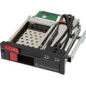 Сменный бокс для HDD Thermaltake Max5 Duo ST0026Z SATA III пластик/сталь черный 2.5