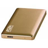 Внешний корпус для HDD AgeStar 3UB2A16 SATA алюминий золотистый 2.5
