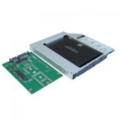 Сменный бокс для HDD/SSD AgeStar SMNF2S SATA металл серебристый 2.5