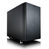 Корпус Fractal Design Define Nano S черный/черный без БП miniITX 4x120mm 3x140mm 2xUSB3.0 audio bott PSU