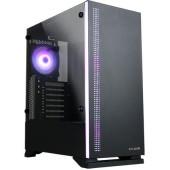 Корпус Zalman S5 черный без БП ATX 6x120mm 2x140mm 2xUSB2.0 1xUSB3.0 audio bott PSU