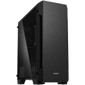 Корпус Zalman S3 TG черный без БП ATX 5x120mm 2xUSB2.0 1xUSB3.0 audio bott PSU