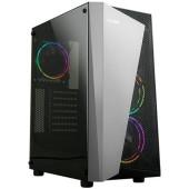 Корпус Zalman S4 Plus черный без БП ATX 5x120mm 2xUSB2.0 1xUSB3.0 audio bott PSU