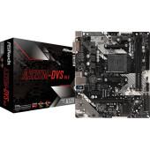 Материнская плата Asrock A320M-DVS R4.0 Soc-AM4 AMD A320 2xDDR4 mATX AC`97 8ch(7.1) GbLAN RAID+VGA+DVI