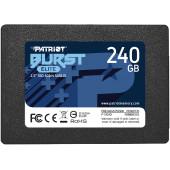 Накопитель SSD Patriot SATA III 240Gb PBE240GS25SSDR Burst Elite 2.5