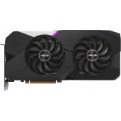 Видеокарта Asus PCI-E 4.0 DUAL-RX6700XT-12G AMD Radeon RX 6700XT 12288Mb 192 GDDR6 2424/16000/HDMIx1/DPx3/HDCP Ret