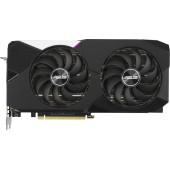 Видеокарта Asus PCI-E 4.0 DUAL-RTX3070-O8G-V2 LHR NVIDIA GeForce RTX 3070 8192Mb 256 GDDR6 1770/14000/HDMIx2/DPx3/HDCP Ret