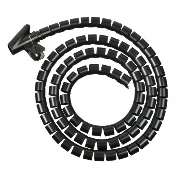 Кабельный органайзер Buro BHP CG252B Spiral Hose 25x2000mm Black -1