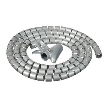 Кабельный органайзер Buro BHP CG22S Spiral Hose 20x2000mm Silver
