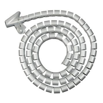 Кабельный органайзер Buro BHP CG252S Spiral Hose 25x2000mm Silver -1