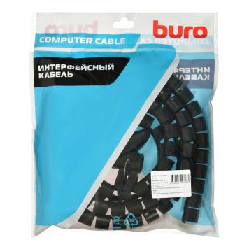 Кабельный органайзер Buro BHP CG202B Spiral Hose 20x2000mm Black -2