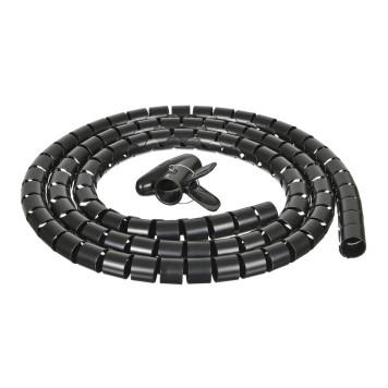 Кабельный органайзер Buro BHP CG252B Spiral Hose 25x2000mm Black