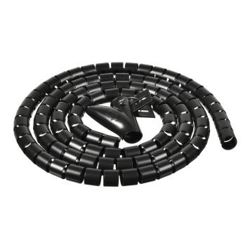 Кабельный органайзер Buro BHP CG155B Spiral Hose 15x1500mm Black