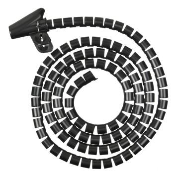 Кабельный органайзер Buro BHP CG202B Spiral Hose 20x2000mm Black -1
