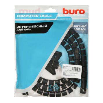 Кабельный органайзер Buro BHP CG155B Spiral Hose 15x1500mm Black -2