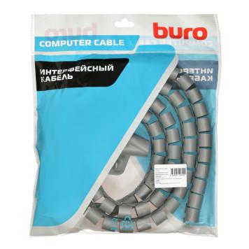 Кабельный органайзер Buro BHP CG252S Spiral Hose 25x2000mm Silver -2