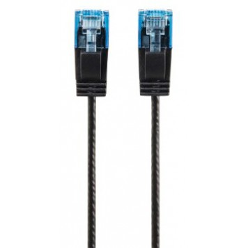 Патч-корд Hama Slim-Flexible UTP 4 пары cat6 1.5м черный RJ-45 (m)-RJ-45 (m) -3