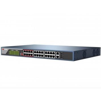 Коммутатор Hikvision DS-3E0326P-E DS-3E0326P-E(B) -1