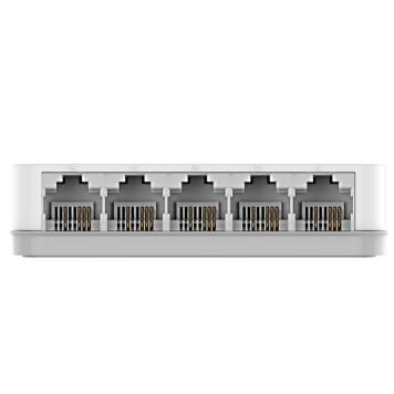 Коммутатор D-Link DES-1005C 5x100Mb неуправляемый -3