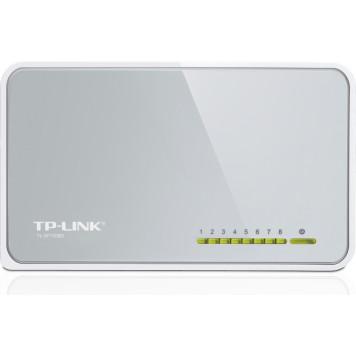 Коммутатор TP-Link TL-SF1008D 8x100Mb неуправляемый -1
