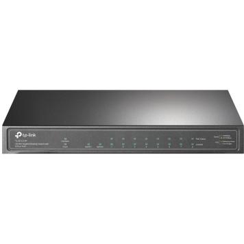 Коммутатор TP-Link TL-SG1210P 9G 1SFP 8PoE+ 63W неуправляемый -2