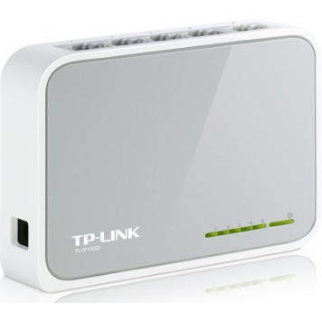 Коммутатор TP-Link TL-SF1005D 5x100Mb неуправляемый -1