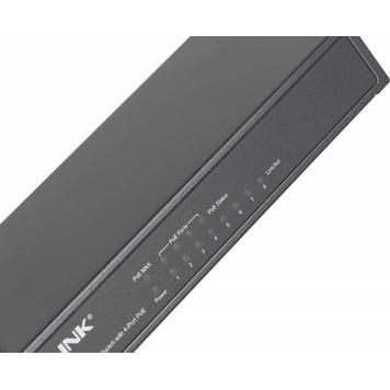 Коммутатор TP-Link TL-SF1008P 8x100Mb 4PoE 57W неуправляемый -2