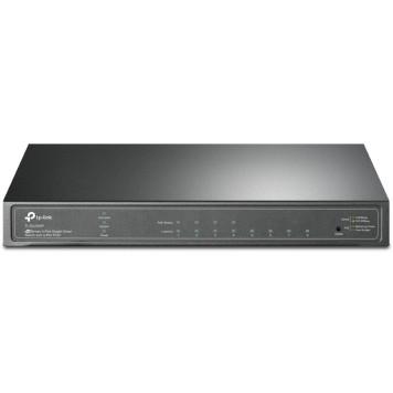 Коммутатор TP-Link JetStream TL-SG2008P 8G 4PoE+ 62W управляемый