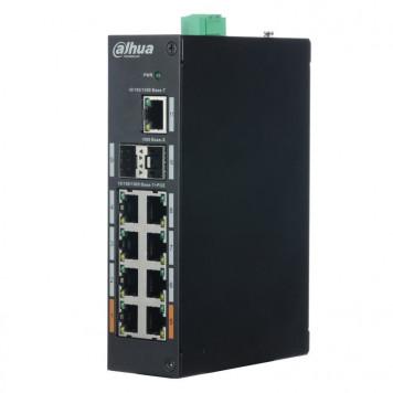 Коммутатор Dahua DH-PFS3211-8GT-120 8G 2SFP 6PoE+ 120W неуправляемый -5