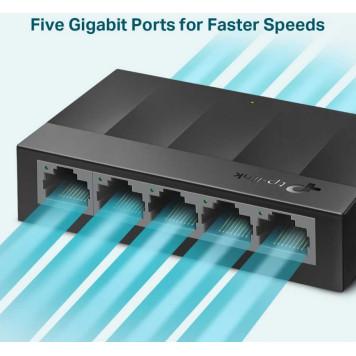 Коммутатор TP-Link LS1005G 5G неуправляемый -2