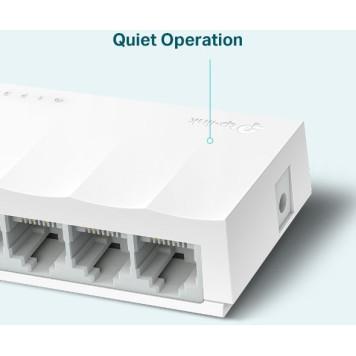 Коммутатор TP-Link LS1005 5x100Mb неуправляемый -3