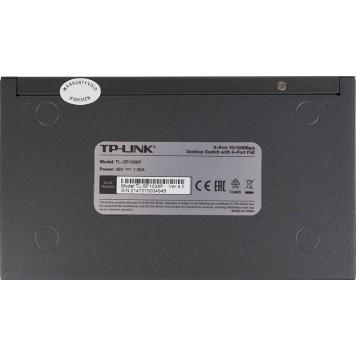 Коммутатор TP-Link TL-SF1008P 8x100Mb 4PoE 57W неуправляемый -1