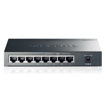 Коммутатор TP-Link TL-SG1008P 8G 4PoE 55W неуправляемый -1