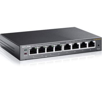 Коммутатор TP-Link TL-SG108PE 8G 4PoE 55W управляемый -2