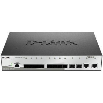 Коммутатор D-Link DGS-1210-12TS/ME 2G 10SFP управляемый
