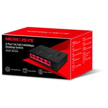 Коммутатор Mercusys MS105G 5G неуправляемый