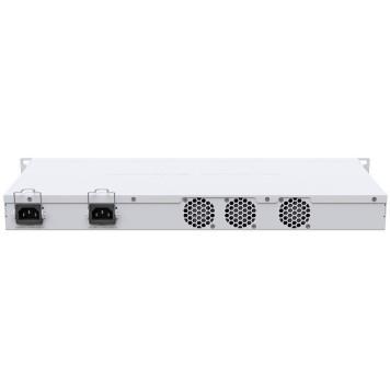 Коммутатор MikroTik CRS326-24S+2Q+RM 1x100Mb 24SFP+ управляемый -1