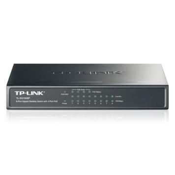 Коммутатор TP-Link TL-SG1008P 8G 4PoE 55W неуправляемый