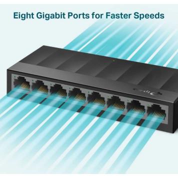 Коммутатор TP-Link LS1008G 8G неуправляемый -2